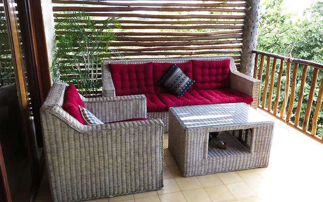 Ma terrasse - Kep Lodge - Cambodge