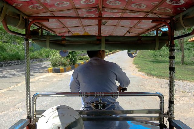 Mon chauffeur de tuk tuk - Cambodge