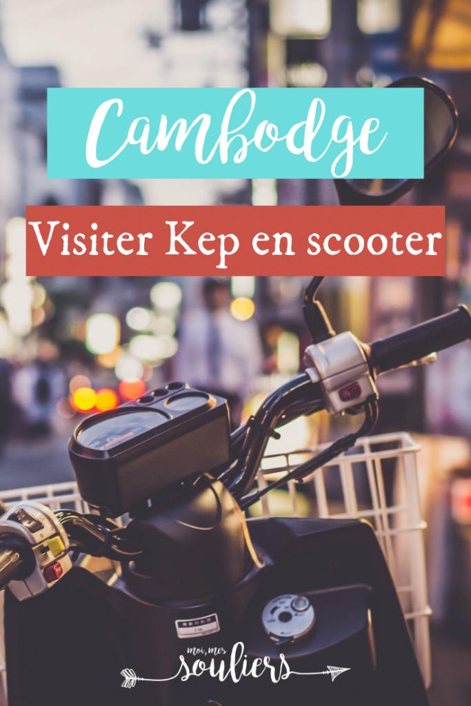 Cambodge - Visiter Kep à moto ou scooter