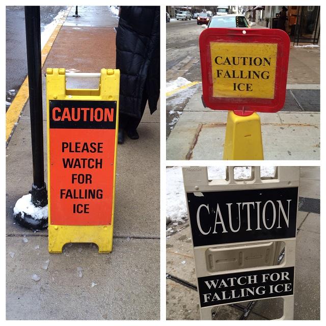 Attention à la glace - Chicago, Illinois
