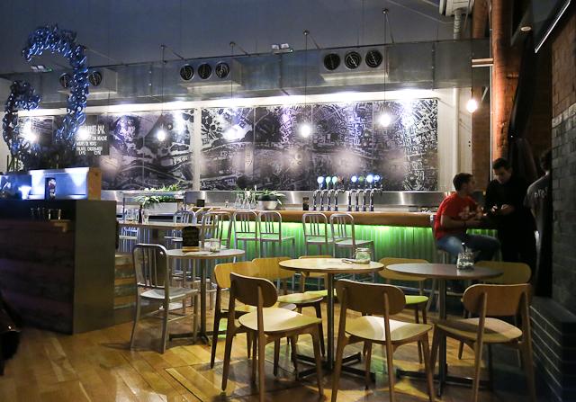 Café - Generator Hotel - Dublin, Irlande