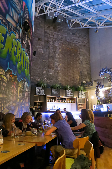 Café du Generator Hotel - Dublin, Irlande