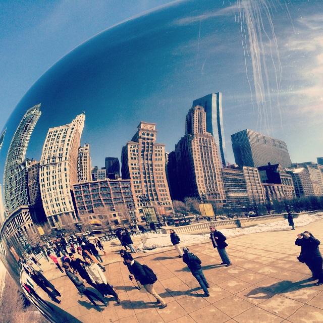 Cloud Gate - The Bean - Chicago, Illinois