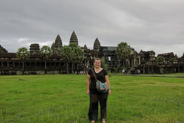 Des pantalons pêcheurs - Siem Reap, Cambodge