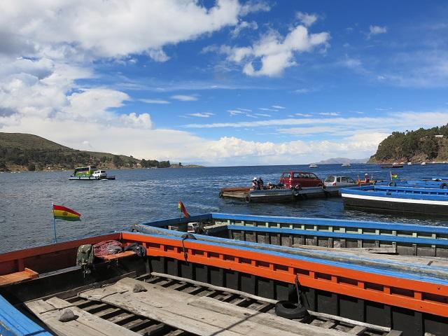 En route pour Copacabana sur le lac Titicaca