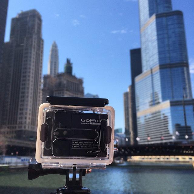GoPro sur la Chicago River - Chicago, Illinois