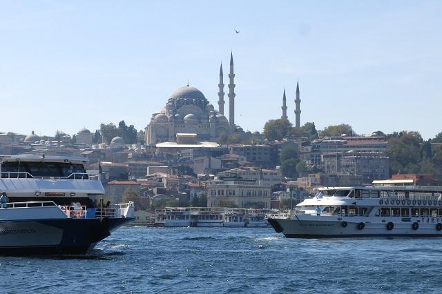 Le long du Bosphore à Istanbul