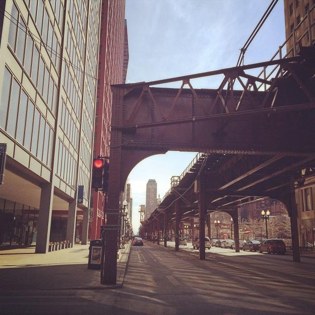 Rues de Chicago, Illinois