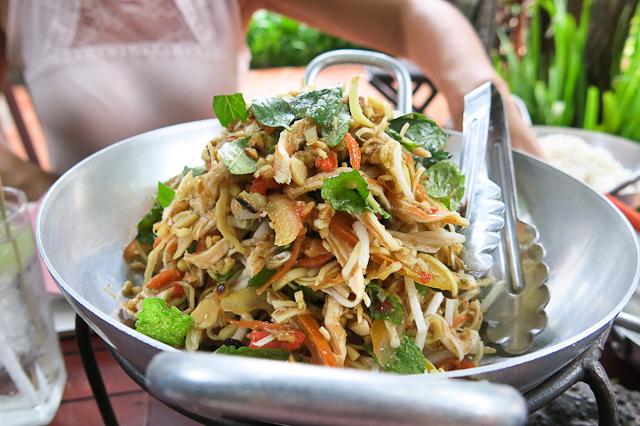 Salade - Siem Reap, Cambodge