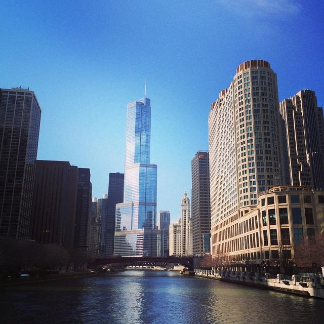 Vue de la Boat Architecture Tour - Chicago, Illinois