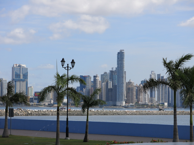 Vue du bus - Panama City