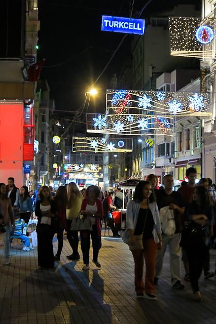 Avenue Istiklal - Istanbul, Turquie