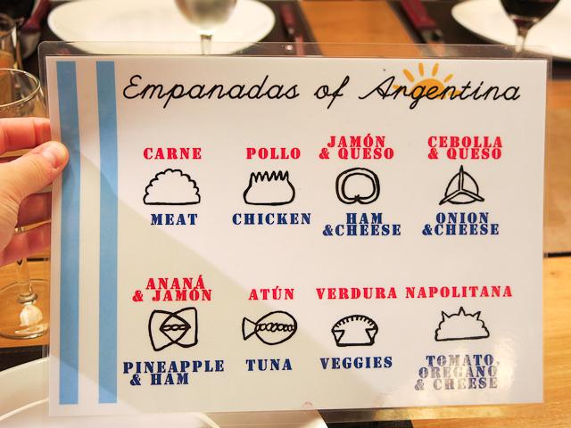 Comprendre les empanadas - The Argentine Experience, Buenos Aires, Argentine