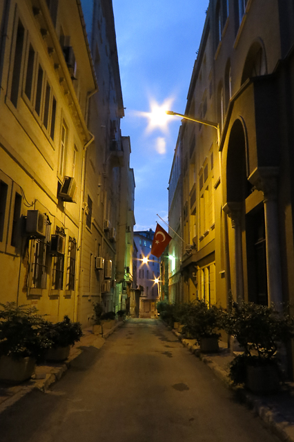 Les ruelles de Galata - Istanbul, Turquie