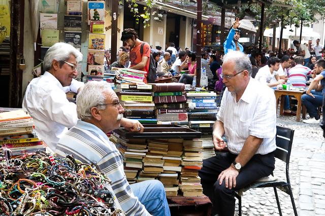 Scènes typiques de quartier - Istanbul, Turquie