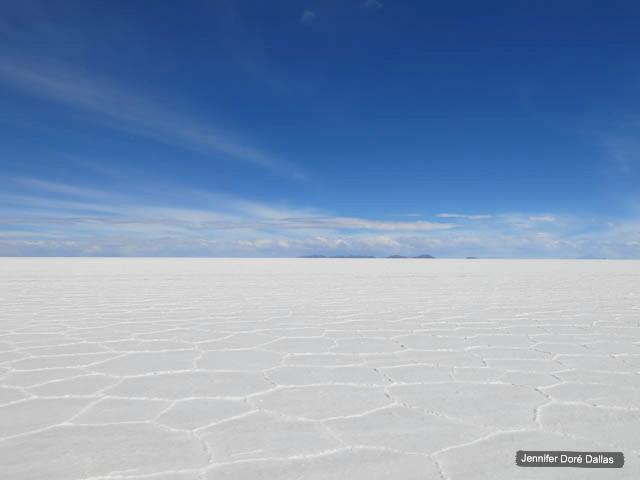 À perte de vue - Désert de sel - Salar d'Uyuni, Bolivie