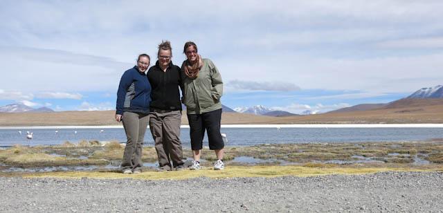 3 filles en vadrouille - Désert de sel - Salar d'Uyuni, Bolivie