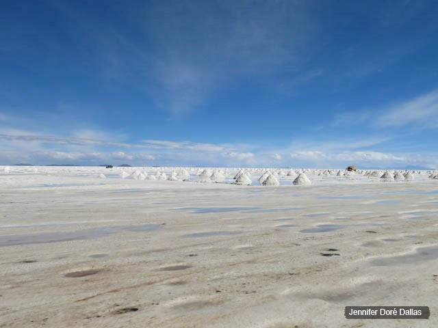 Au milieu de nulle part - Désert de sel - Salar d'Uyuni, Bolivie