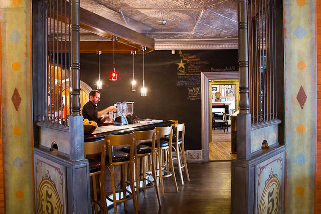 Bar du Bistro Le Forain - Gatineau, Outaouais