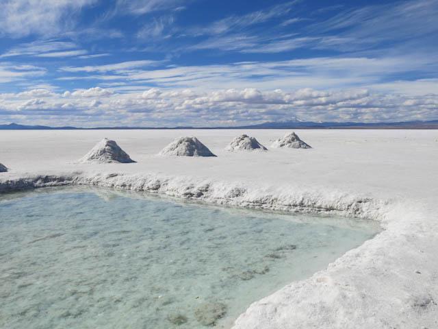 Bassin - Désert de sel - Salar d'Uyuni, Bolivie