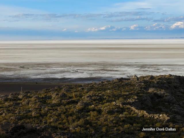 Couches colorées - Désert de sel - Salar d'Uyuni, Bolivie