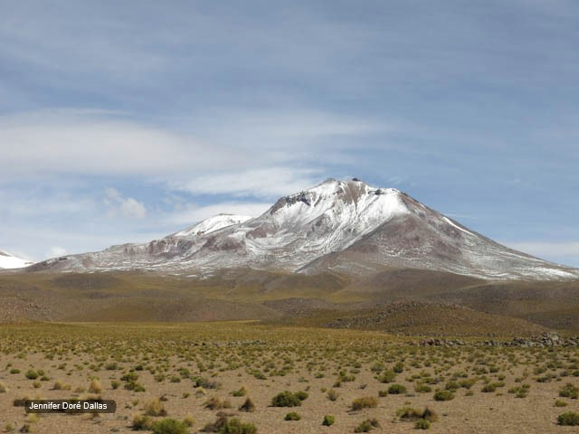 Désert et neige - Désert de sel - Salar d'Uyuni, Bolivie