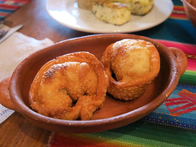 Empanadas de quinoa - Pacha Manka - Humahuaca, Argentine