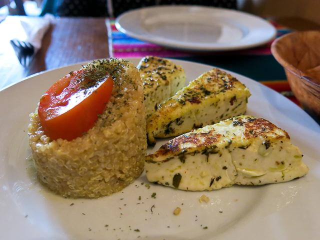 Fromage et quinoa - Pacha Manka - Humahuaca, Argentine