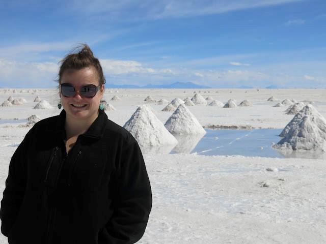Grand sourire - Désert de sel - Salar d'Uyuni, Bolivie