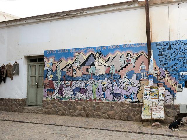 Les rues d'Humahuaca, Argentine