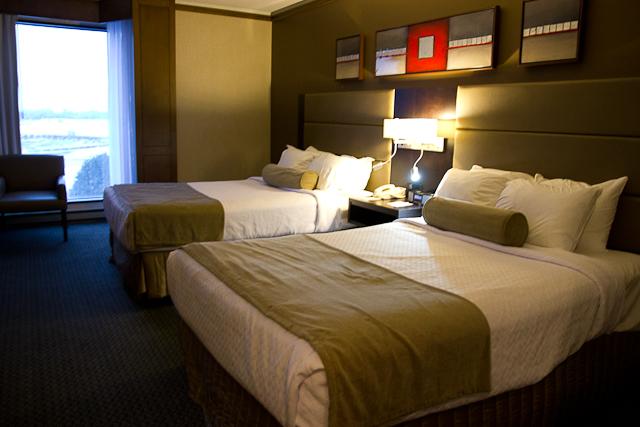 Notre chambre au Crowne Plaza Gatineau-Ottawa
