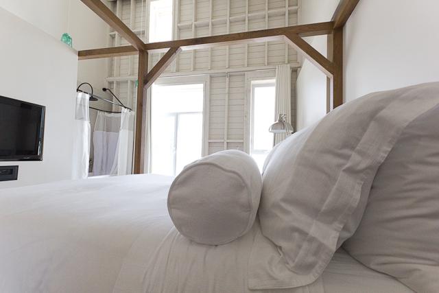 Notre grand lit confortable - Le Clos, La ferme du Massif de Charlevoix