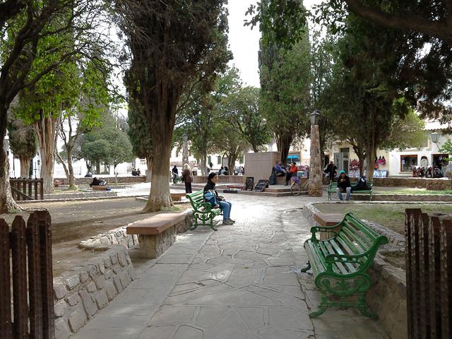 Parc public - Humahuaca, Argentine