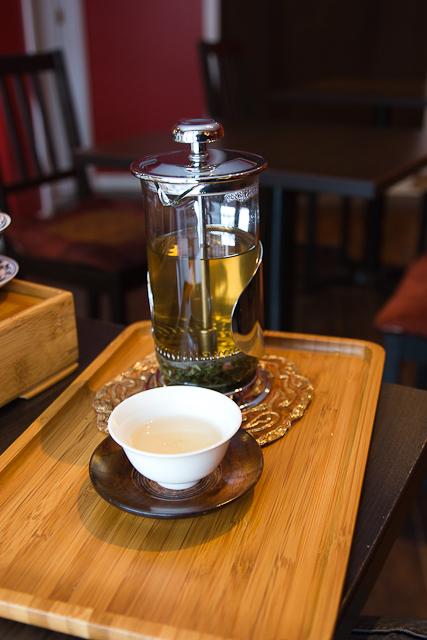 Tisane thé-menthe - Maison de thé Cha Yi - Gatineau, Outaouais