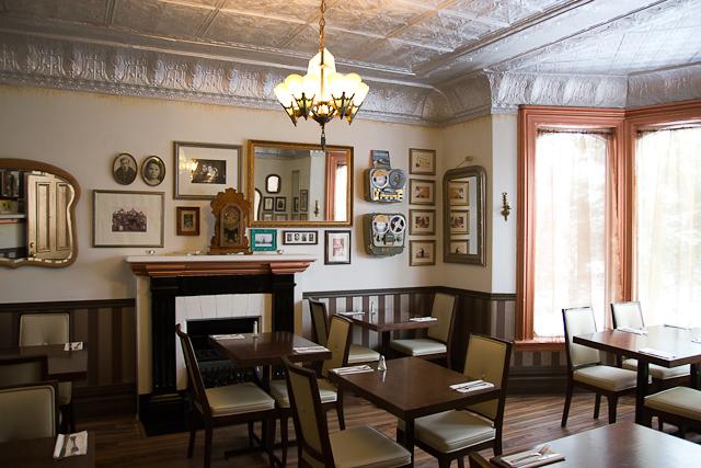 Une des salles à manger - Bistro Le Forain - Gatineau, Outaouais