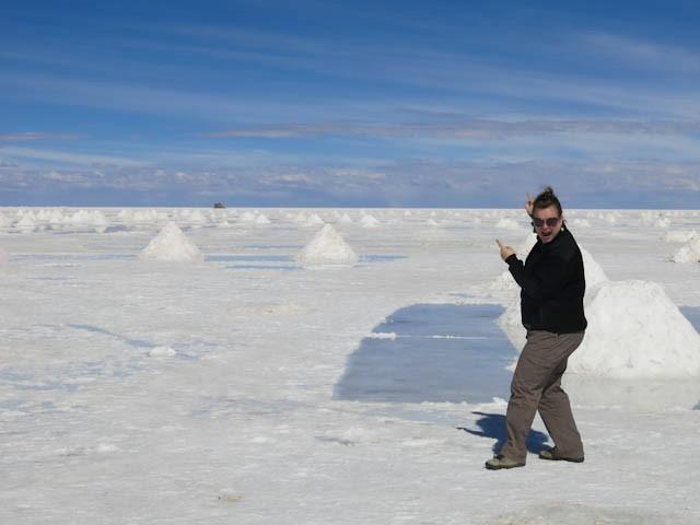 Wow - Désert de sel - Salar d'Uyuni, Bolivie