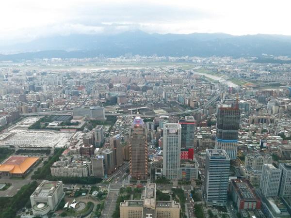 Édifices du centre-ville - Taipei 101, Taiwan