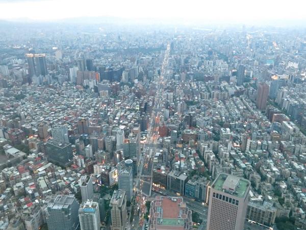 Artère principale - Taipei 101, Taiwan