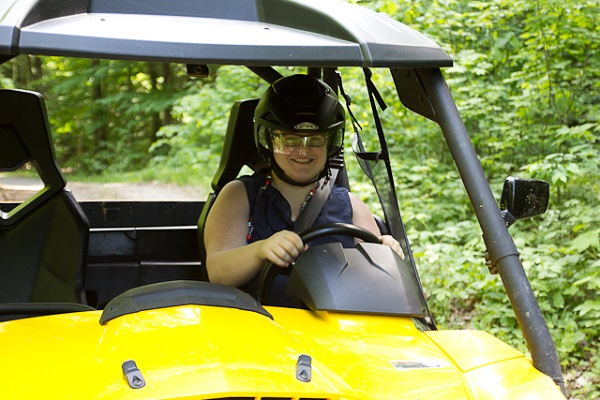 Au volant - Camp Explora - Montebello, Outaouais