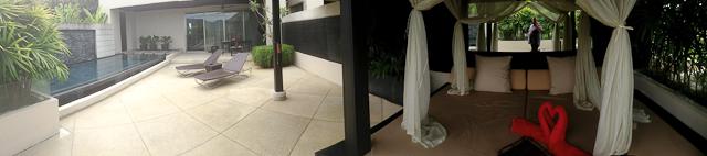 La terrasse de la villa Pavilions Resort Phuket