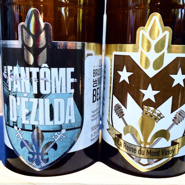 Les deux bières star des Brasseurs de Montebello - Outaouais