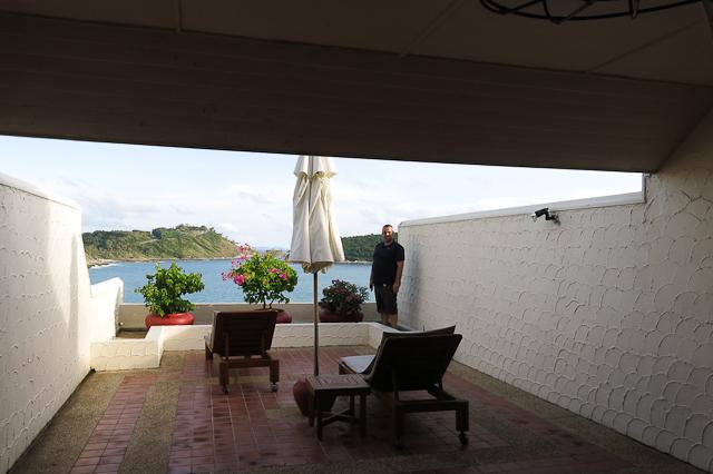 Notre terrasse au Royal Phuket Yacht Club