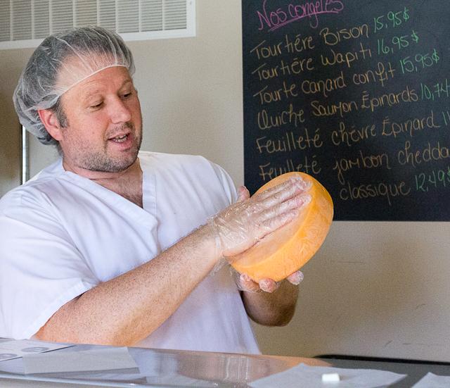 Propriétaire de la fromagerie Montebello en Outaouais