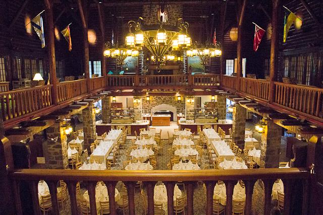 Salle à manger Aux Chantignoles du Fairmont Château Montebello, Outaouais