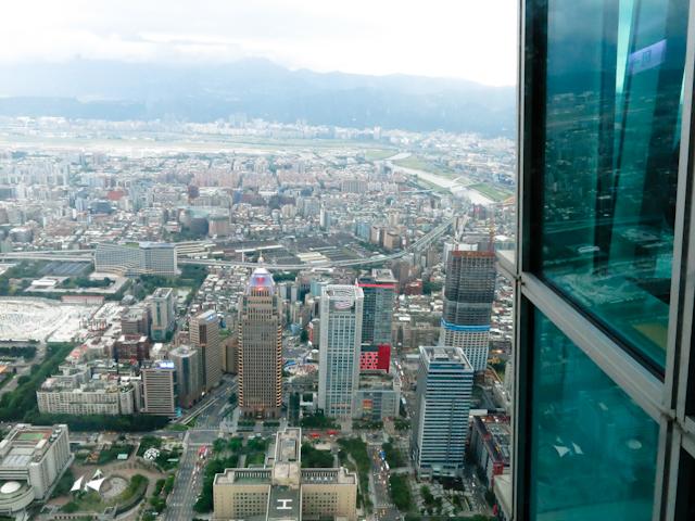 Vue de jour - Taipei 101, Taiwan