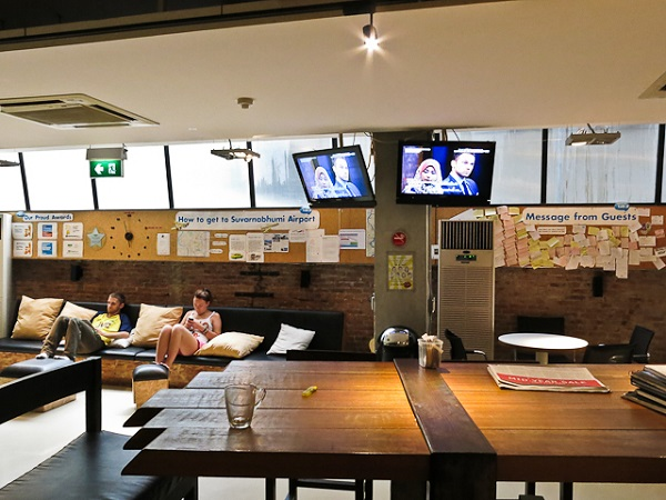 Aire communale - Lub D Silom - Bangkok, Thailande