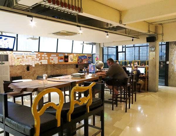 Aire commune - Lub D Silom - Bangkok, Thailande