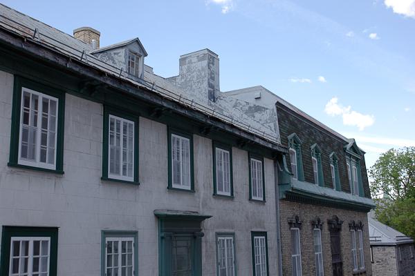 Anciennes mansardes - Québec, Canada
