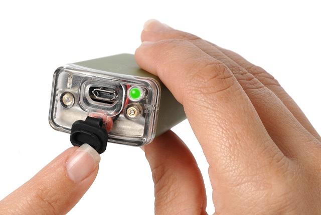 Chargement USB sur SteriPen - Photo tirée du site
