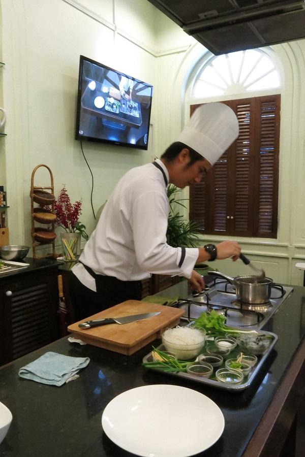 Chef du Blue Elephant - Bangkok, Thailande